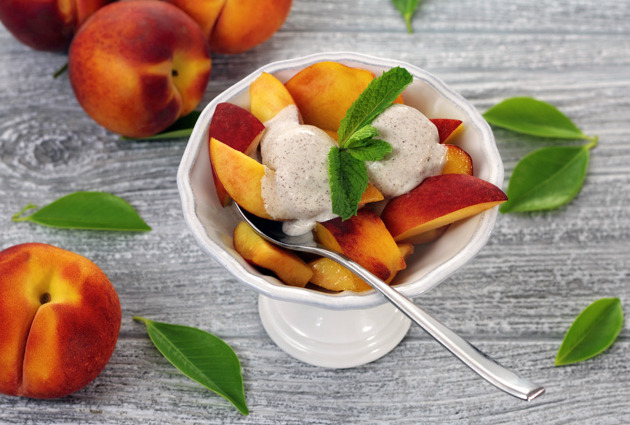 Paleo Peaches and Cream