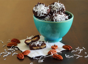 Chocolate Caramel Pecan Clusters Recipe