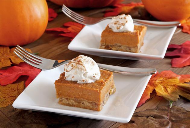 Paleo Pumpkin Pie Bars Recipe | Paleo Newbie