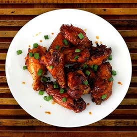 4-Ingredient Sweet Chili Hot Wings Recipe