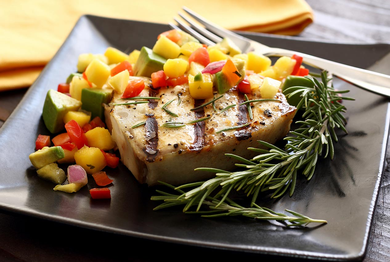 grilled halibut with charred corn salsa simple grilled halibut grilled ...
