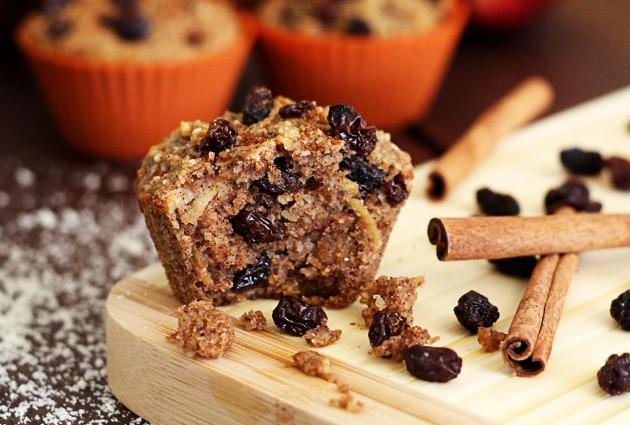 Cinnamon Raisin Harvest Muffins