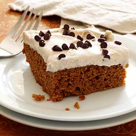 Paleo Pumpkin Gingerbread Cake With Maple-Vanilla Frosting Recipes ...