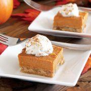 easy paleo pumpkin pie bars recipe