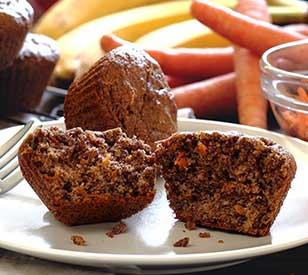 Paleo Banana Carrot Breakfast Muffins Recipe