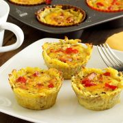 easy paleo recipe for sweet potato and egg cups