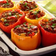 easy paleo recipe for stuffed peppers