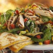 Chili's Quesadilla Explosion Salad courtesy eatclean.com